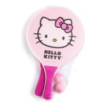 Kit de Frescobol Hello Kitty 2 Players