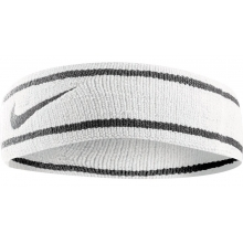 Testeira Nike Dri-Fit Headband - White/Black